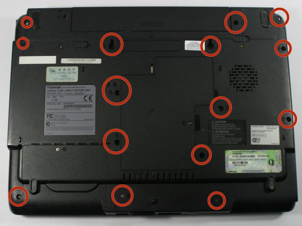 Toshiba Satellite A105-S4011 Touchpad Replacement