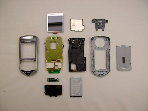 Disassembling Blackberry 7105t Full Dissassembly