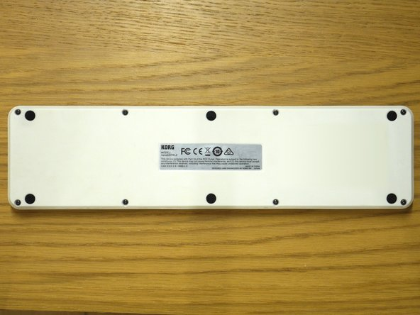 Remove the 8 screws on the bottom. Ensure that you have the right screwdriver bit, and that you go slowly and use enough force to turn the screw without stripping it.