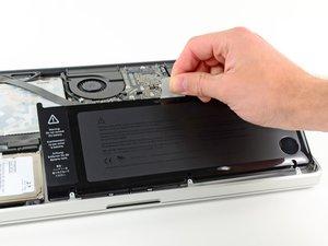 MacBook Pro 15インチ Unibody Late 2011 バッテリーの交換