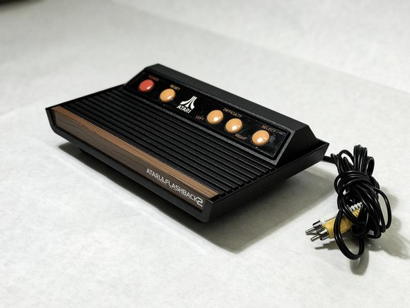 Atari Flashback 2 Reset and Select Button Replacement