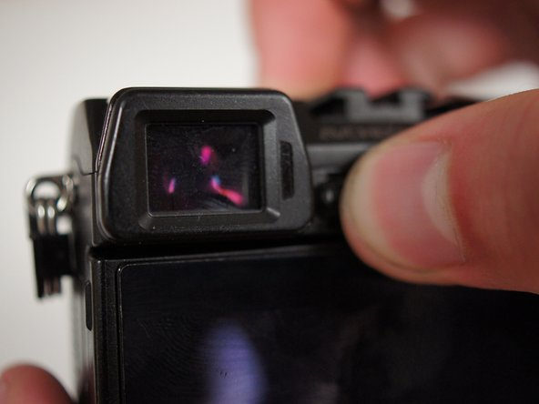 Sony NEX-7 Adjusting the Viewfinder's Focus