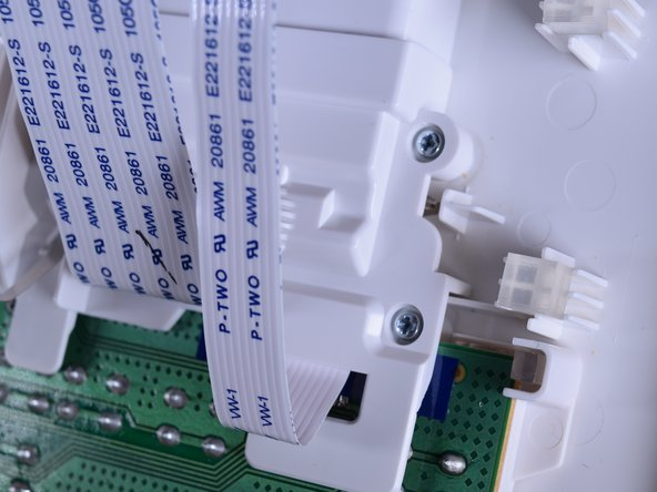 Use the PH0 screw bit to remove the  five 10 mm screws located above the circuit board.
