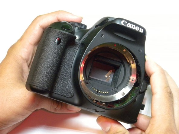 Canon EOS Rebel T3i Front Casing Replacement