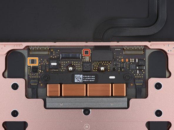 Touchpad sensors: