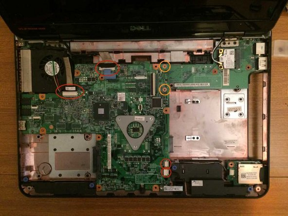 Dell Inspiron 15 (N5010) Motherboard Removal and Fan Cleaning Replacement