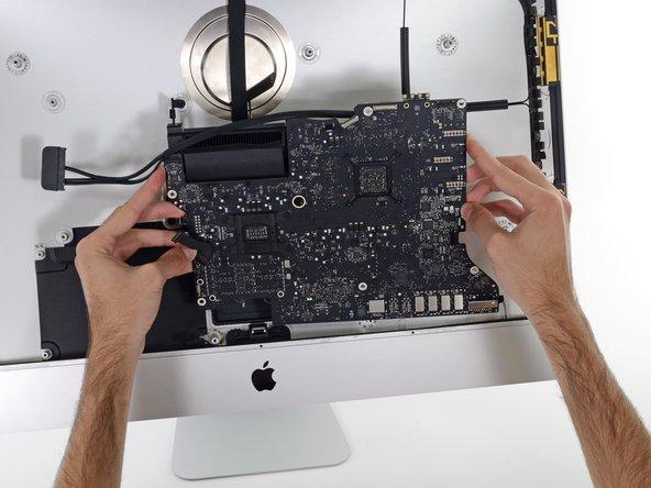 iMac 27インチ 2017 ロジックボードアセンブリの交換