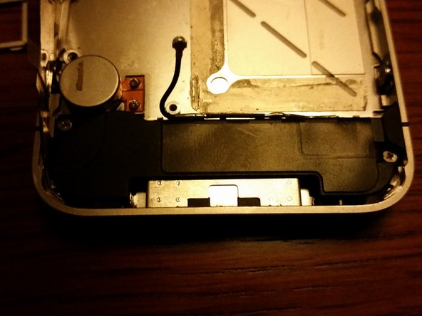 Remove 2 X screws and triangular washer