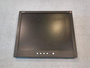 Acer AL1714 Repair