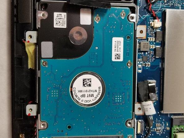 Asus Q534U Hard Disk Replacement