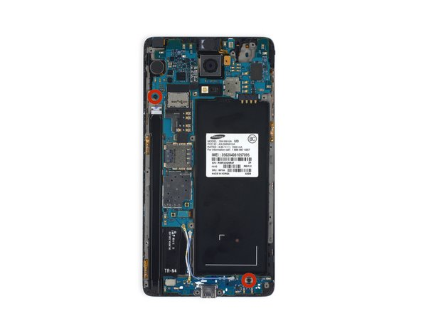 Samsung Galaxy Note 4 Motherboard Replacement