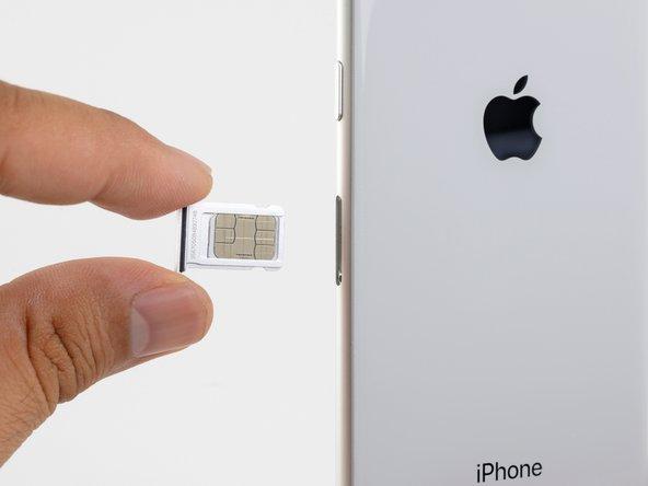 iPhone 8 SIM Karte austauschen