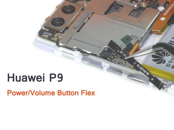 Huawei P9 Power Keypad Flex Cable Replacement