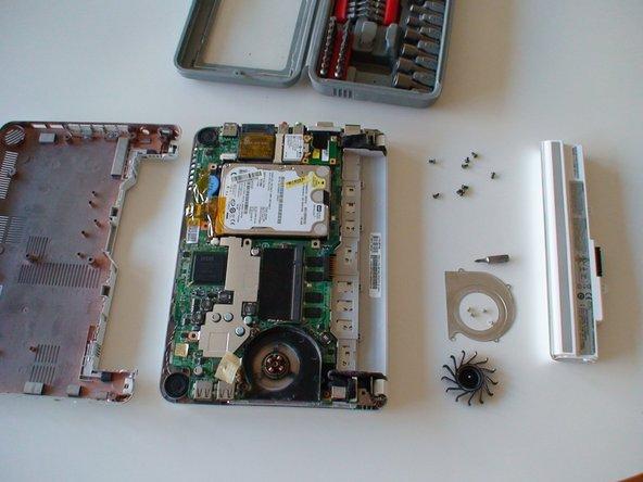 Repairing Noisy fan on MSI Wind