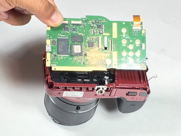 Samsung WB1100F Motherboard Replacement