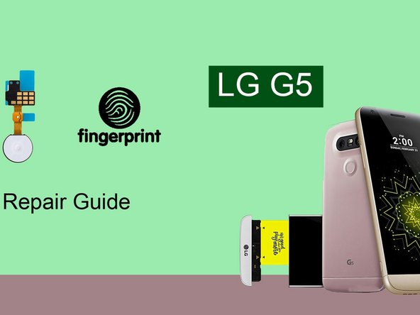 How to repair LG G5 Power button ?