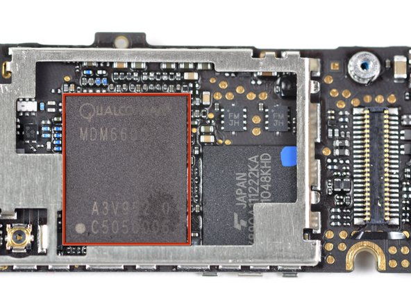 The Qualcomm MDM6600 chip supports HSPA+ data rates of up to 14.4 Mbps and CDMA2000® 1xEV-DO Rev. A/Rev. B