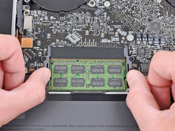 """Remplacement de la mémoire RAM du MacBook Pro 17"""" Unibody"""