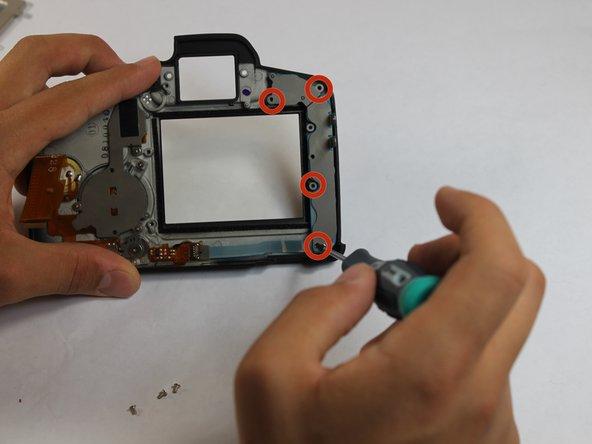 Canon EOS 5D Mark II Rear Button Contact Replacement