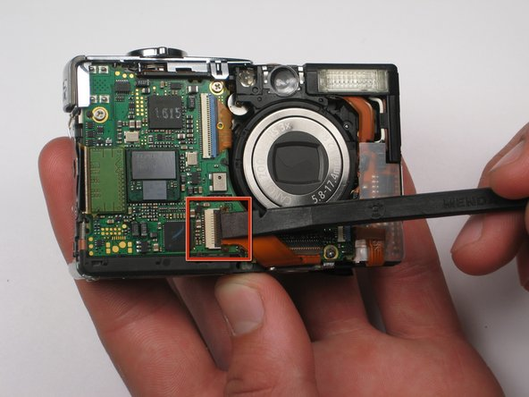 Canon PowerShot SD450 LCD Screen Replacement