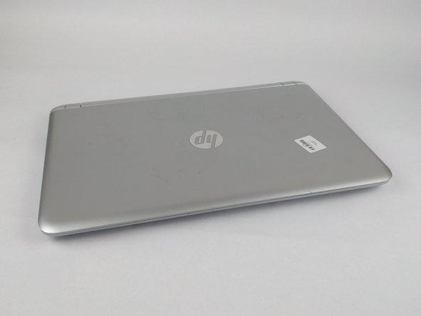 HP Pavilion 15-ab243cl Case Removal