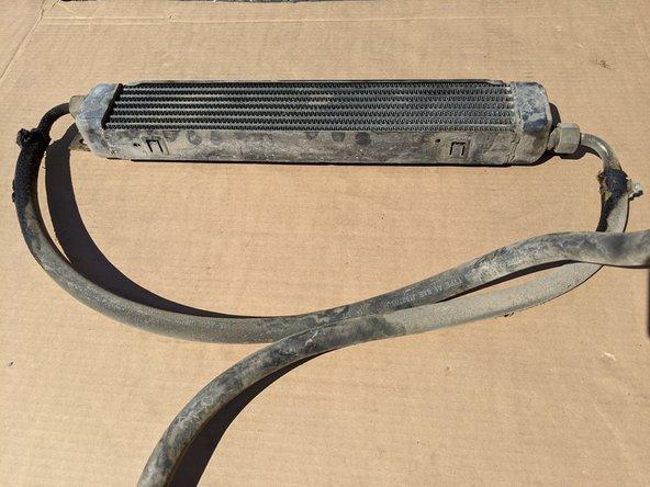 Vixen 21 Oil Cooler Replacement