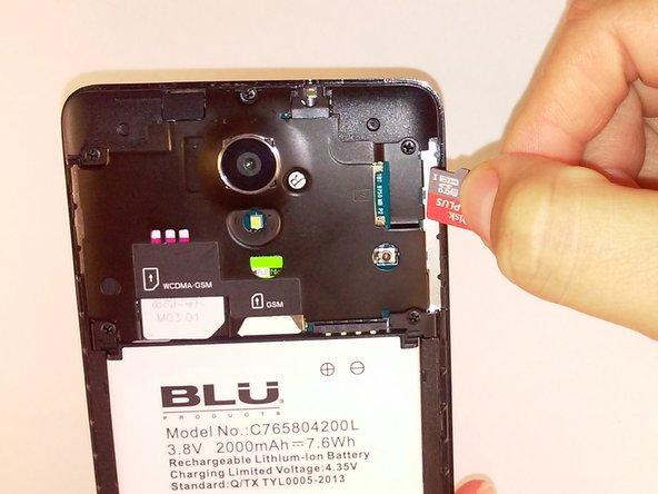 Blu Studio 5.0 S II MicroSD Card Replacement