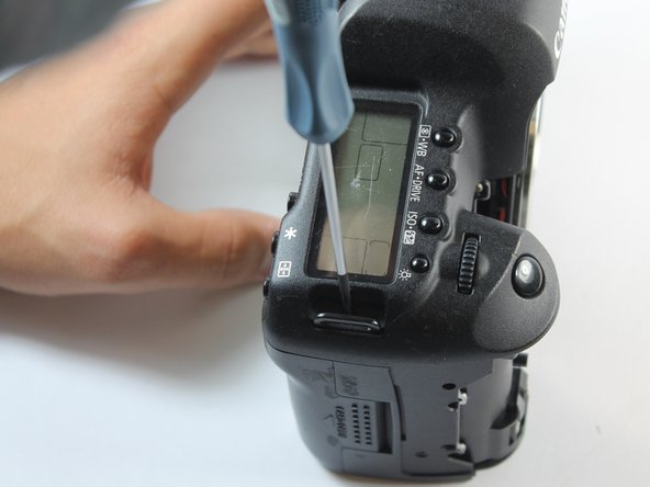 Canon EOS 5D Mark II Top Panel Replacement