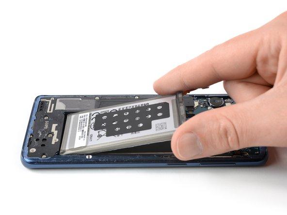 Remplacement de la batterie du Samsung Galaxy S9