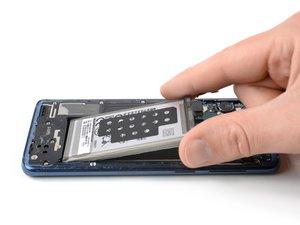 Reemplazo de la batería del Samsung Galaxy S9