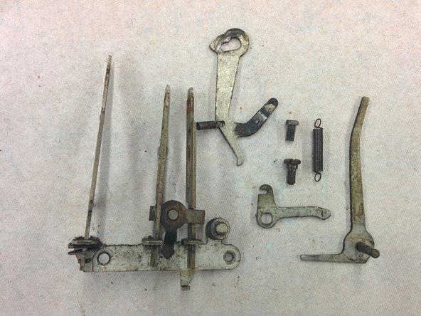 """1x machine screw, #8-36, 5/16"""""""