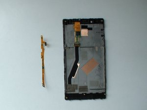 Power, Volume and Camera buttons flex cable