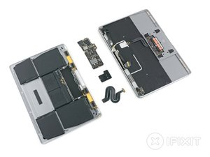 Retina MacBook 2017 Teardown
