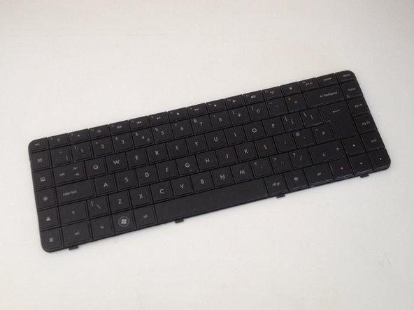 Remplacement du clavier d'un Compaq Presario CQ58