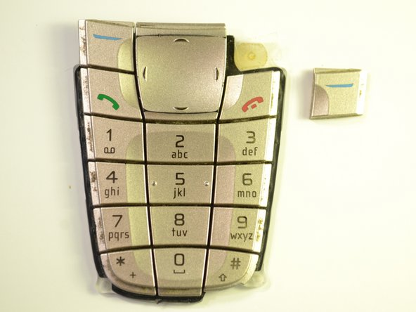 Nokia 6200 Classic Keypad Buttons Replacement