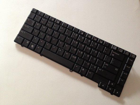 Removing the HP Elitebook 6930p Keyboard