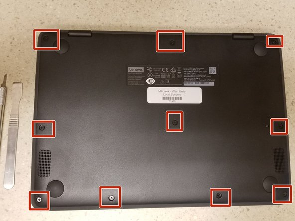 Lenovo N23 Yoga Keyboard Replacement