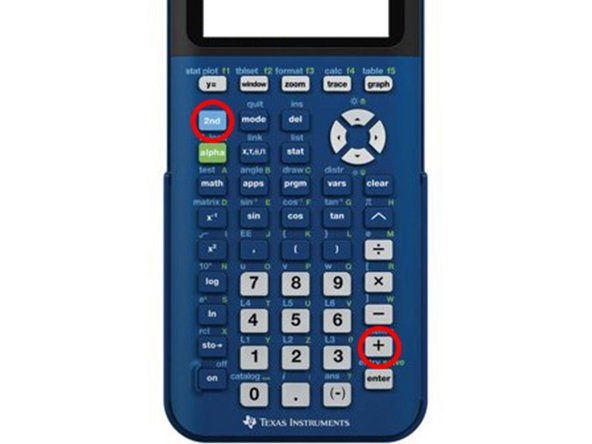 How to Clear RAM on TI-84 Plus CE