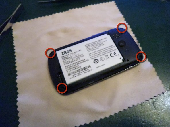 Remove Battery, SIM Card, and MicroSD