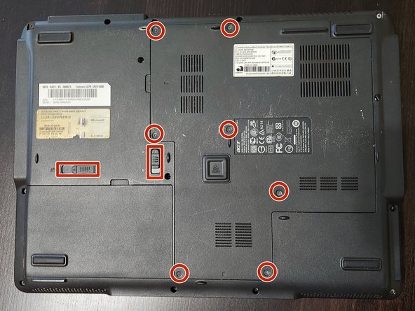 First of all, remove the screws holding the this panel. Open it.