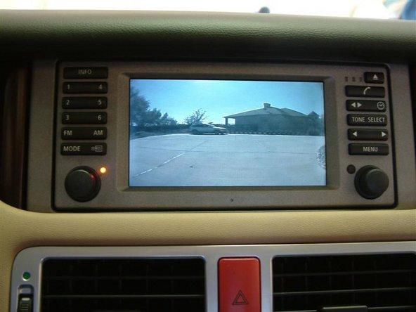 2003-2004 Land Rover Range Rover Backup Camera Upgrade