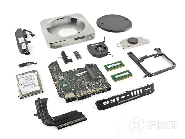 Mac mini Mid 2011 Repairability: 8 out of 10 (10 is easiest to repair).