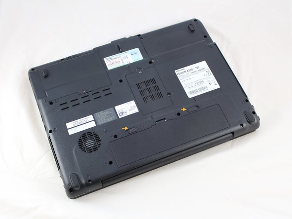 Toshiba Equium A210 Hard Drive Replacement