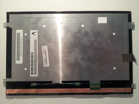The back of the LCD.