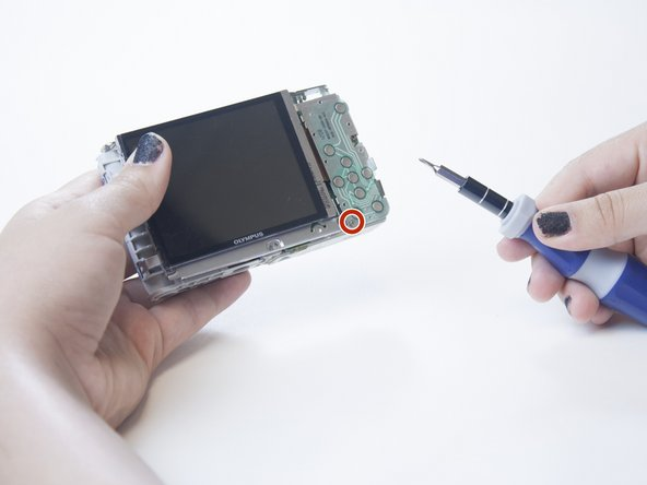 Olympus VR-350 LCD Screen Replacement