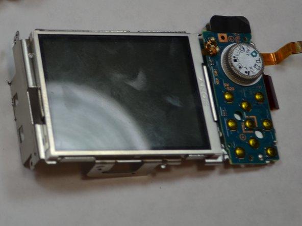 Sony Cyber-Shot DSC-W120 LCD Screen Replacement