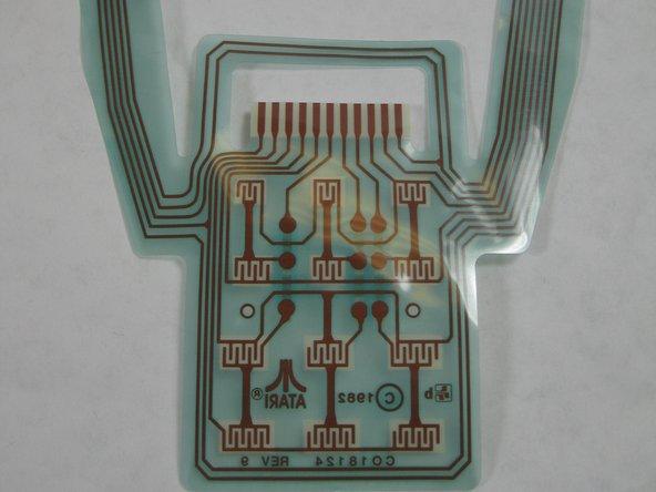 Atari 5200 Controller Flex Board Replacement