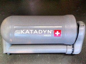 Katadyne Hiker Water Filter Cleaning