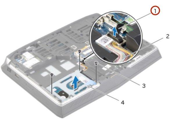 Dell Alienware 14 Reemplazo primario del disco duro