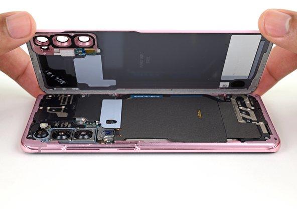 Samsung Galaxy S20 Verwijdering van de achterste behuizing